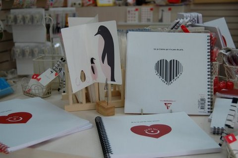 RED HEART STORE店内
