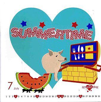 2010年7月 デスクカレンダー